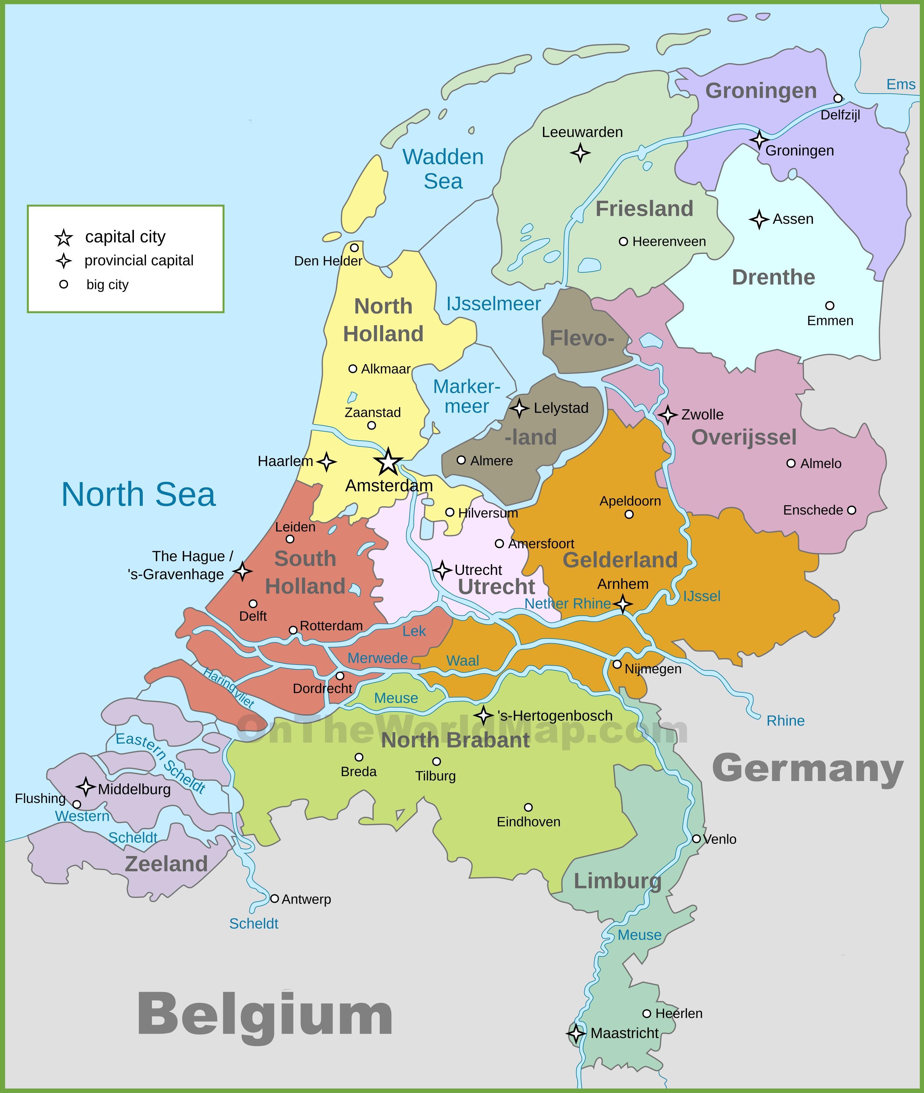 bat avrupa t rkiye hollanda hollanda siyasi haritas